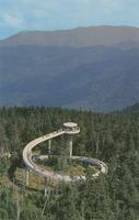Observation Tower atop Clingmans Dome - Highest Peak in the Great Smoky Mountains National Park (GS-212)