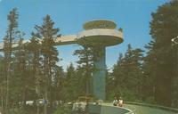 Clingman's Dome Tower - Great Smoky Mountains National Park (GS-193)