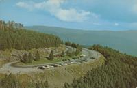 Aerial View of the Overlook at Clingman's Dome - Great Smoky Mountains National Park (GS-486)