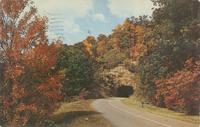 Tanbark Tunnel - Blue Ridge Parkway between Asheville and Mt. Mitchell, North Carolina (AM-47)