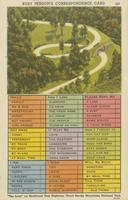 "Busy Person's Correspondence Card ""The Loop"" on Newfound Gap Highway, Great Smoky Mountains National Park (247)"