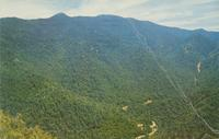 The Loop and Mt. LeConte as seen from the top of the Chimneys - Great Smoky Mountains National Park (GS-10)