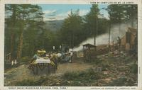 "View of Camp Life on Mt. Le Conte ""Great Smoky Mountains National Park, Tenn."""