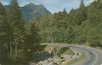 The Chimney Tops and U. S. 441, Great Smoky Mountains National Park (GS-18)