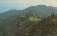 Waterrock Knob Overlook as seen from the Top of Waterrock Knob, Western North Carolina (CM-64)