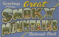 Greetings from Great Smoky Mountains National Park
