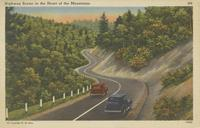 Highway Scene in the Heart of the Mountains (275)