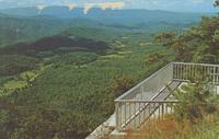 View from Look-Rock on the Foothills Parkway -- Great Smoky Mountains National Park.