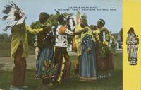 Cherokee Indian Dance in the Great Smoky Mountains National Park