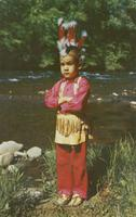 Little Carl - Cherokee Indian - Cherokee Indian Reservation, North Carolina.