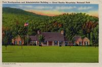 Park Headquarters and Administration Building -- Great Smoky Mountains National Park