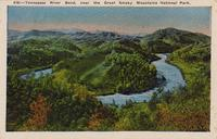 Tennessee River Bend, near the Great Smoky Mountains National Park