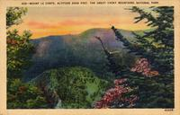 Mount Le Conte.  Altitude 6600 Feet.  The Great Smoky Mountains.  National Park.