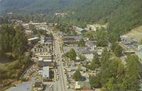 Air View of Gatlinburg, Tennessee at the Entrance to the Great Smoky Mountains National Park (GS-219)