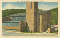 First Baptist Church, Gatlinburg, Tenn. (G-14)
