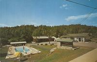 Brookeside Motel and Ranch House Roaring Fork Road, Highway 73 Gatlinburg, Tennessee