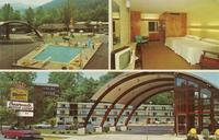 "Crossroads Motor Lodge ""In The Smokies"" On Highway U. S. 441 - Gatlinburg, Tenn. 37738 Phone 615 - 436-5661"