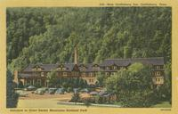 New Gatlinburg Inn, Gatlinburg, Tenn. Entrance to Great Smoky Mountains National Park (599)