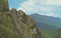 Charlie's Bunion - Showing Mt. LeConte in the Distance - Great Smoky Mountains National Park (GS-304)