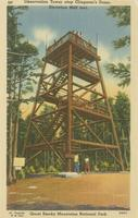 Observation Tower atop Clingman's Dome, Elevation 6642 feet, Great Smoky Mountains National Park (227)