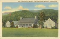 Administration Building of the Great Smoky Mountains National Park (C-23)