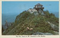 The Fire Tower on Mt. Cammerer in the Smokies