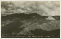 Looking East from Myrtle Point Mt. LeConte showing Mt. Guyot and Mt. Chapman Great Smoky Mt. Natl. Park (1-I-59)