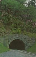 Upper Tunnel on U. S. 441 near Newfound Gap - Great Smoky Mountains National Park (GS-382)