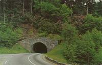 Upper Tunnel on U. S. 441 near Newfound Gap - Great Smoky Mountains National Park (GS-383)