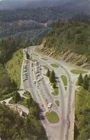 Air View of Newfound Gap - Great Smoky Mountains National Park (GS-223)