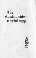 The Confounding Christmas