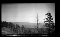 Panoramic view of Western North Carolina mountains