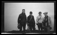 Hikers on Mount Le Conte