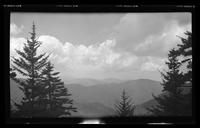 View of Sugarland Mountain from Cliff Top on Mount Le Conte