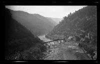 Little TN River and Ry Road below Dam (Negative 12)