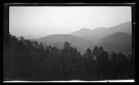 Smoky Mountain Landscapes [Envelope identifies subjects as: Cabin, 1939 April 29-30, LeConte Orchard 1933 Dec. 2-3, 1930] [Prints in Box 33, Folder 39] (3 of 24)