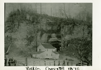 Ruskin Cave and Mill 1896