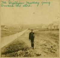 Mr. Wililam Murray going toward the store