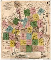 Knoxville -- 1890 -- Sheet Index 1