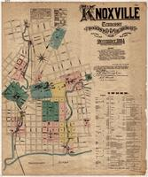 Knoxville -- 1884 -- Sheet/Street Index