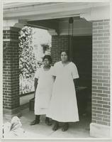 Two Servant Girls on the Porch of the Robinson's House