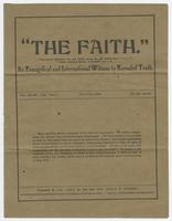 """The Faith."": An Evangelical and International Witness to Revealed Truth"