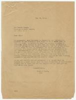 Letter from Hicks & Hicks to Dr. Harris Gregg
