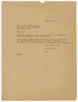 Letter from Hicks & Hicks to Mr. S.E.N. Moore, Atty.