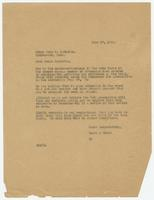 Letter from Hicks & Hicks to Judge John T. Raulston