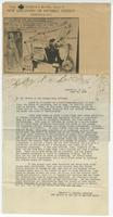 Letter from Charles F. Bluske to Frank M. Thompson, State's Attorney General