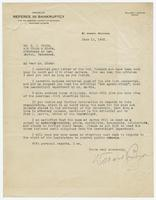 Letter from Willard J. Banyon to Sue K. Hicks