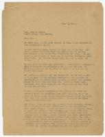 Letter from Sue K. Hicks to Ira Hicks