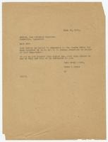 Letter from Hicks and Hicks to Editor, the Watchman magazine
