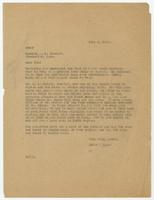 Letter from Hicks & Hicks to A.T. Stewart